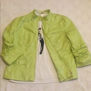 EUC Chico's Chic Green Jacket - M